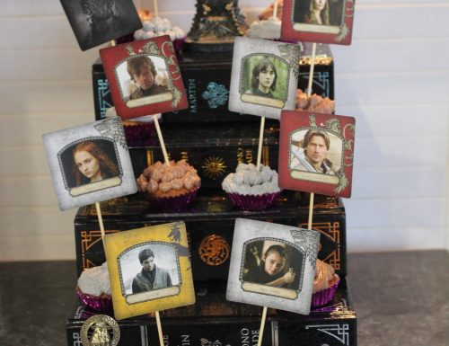 Game of thrones cupcake