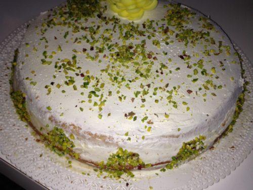 Chiffon cake a modo mio