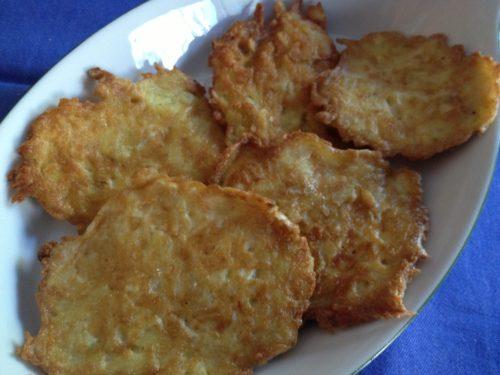 Frittelle di patate ricetta vegetariana