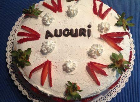 Torta con le fragole ….ricetta golosa
