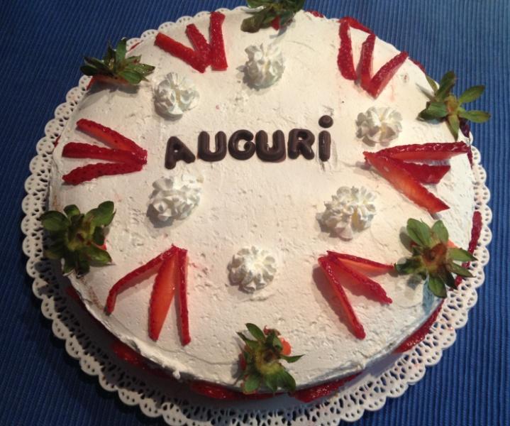 torta con le fragole...golosa