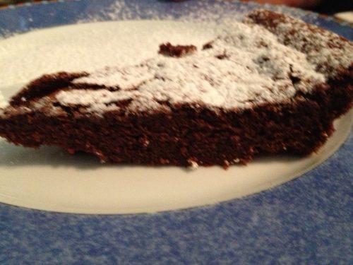 Torta al cioccolato tenerina