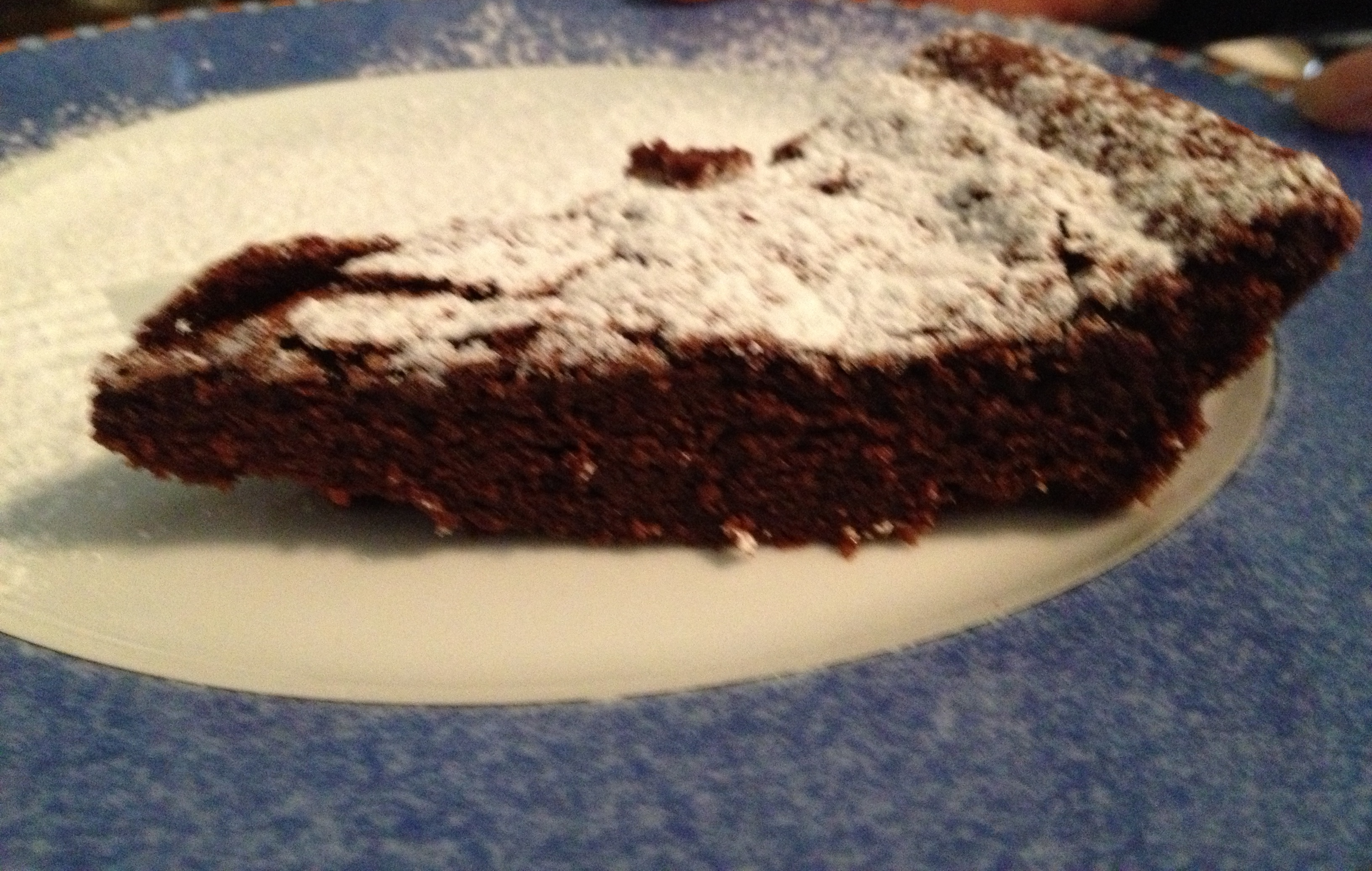 Torta Barozzi o tenerina