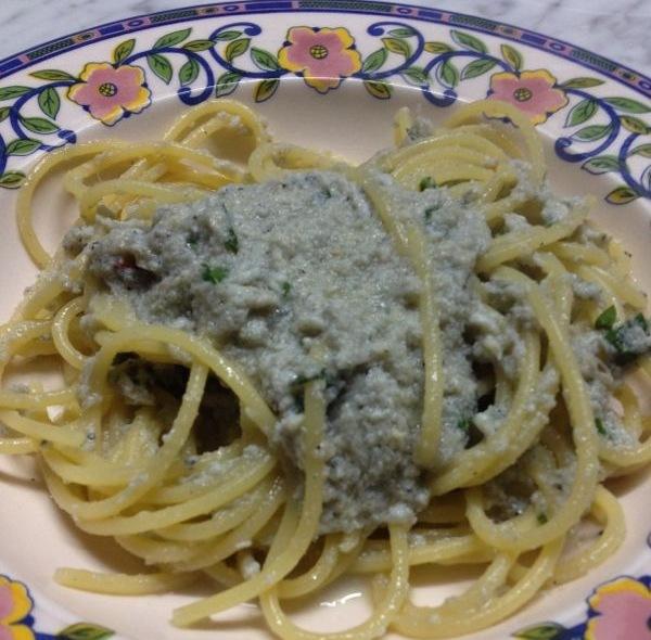 Spaghetti con il bianchino