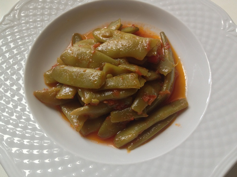 fagiolini o piattolni verdi in umido