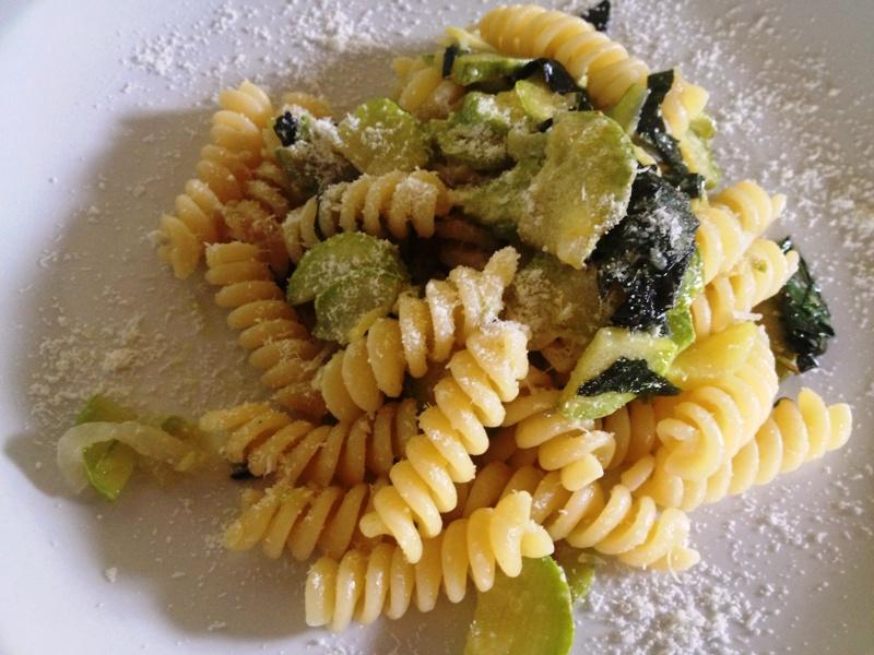 pasta con zucchine