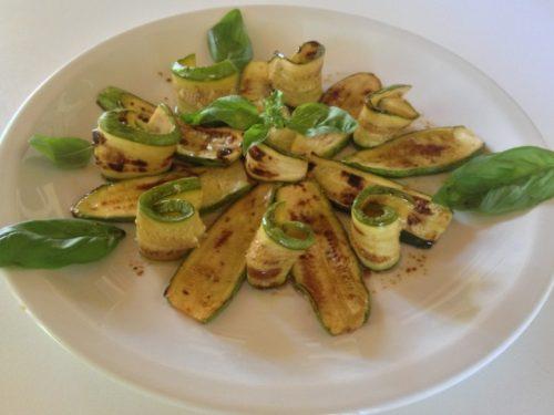 Zucchine grigliate…al forno