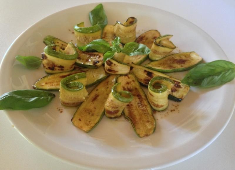 Zucchine grigliate ..al forno