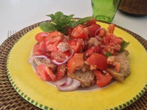 Pomodori in insalata con frese
