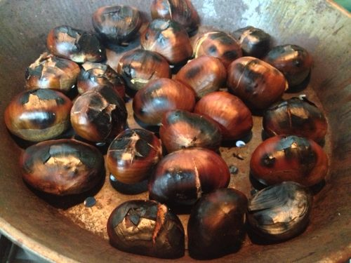 Caldarroste ricetta autunnale