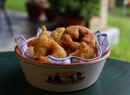 Crispelle o zeppole fritte ricetta calabrese
