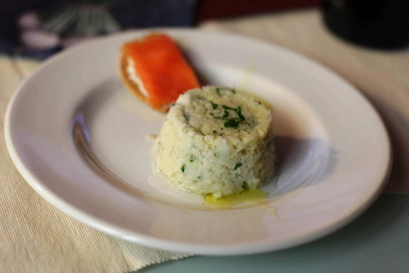 Merluzzo in insalata profumato