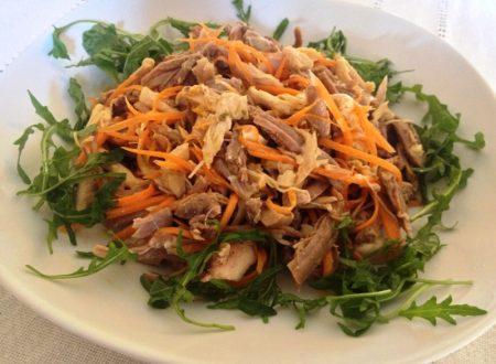 Pollo in insalata ricetta riciclo