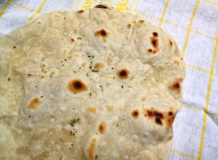 Chapati pane indiano senza lievitazione