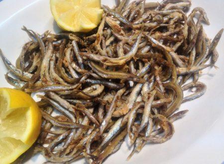 Cicinella fritta ricetta sfiziosa di pesce