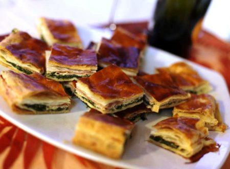 Torta rustica con cicoria e salsiccia