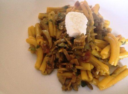 Pasta con carciofi e zafferano ricetta delicata