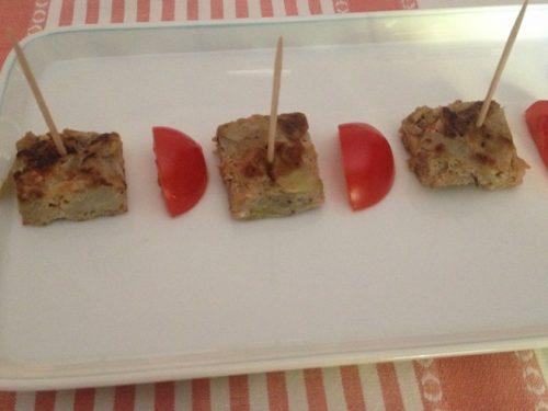 Frittata con cipolle ricetta povera
