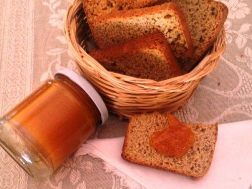 Marmellata di arance  e zenzero conserva invernale