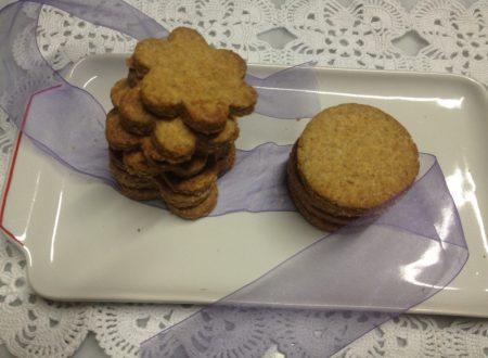 Biscotti con la farina integrale
