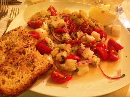 Insalata di pesce stocco ricetta regionale