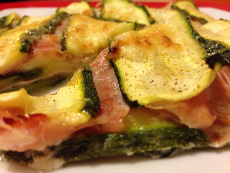 Zucchine al forno ricetta saporita