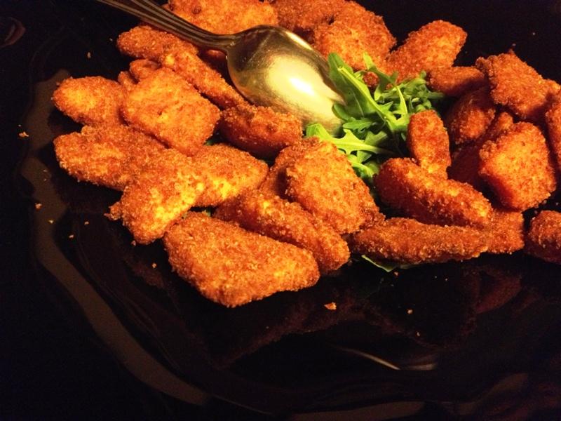 bocconcini fritti di formaggio