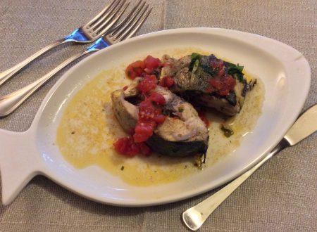 Lampuga o Capone in umido ricetta pesce