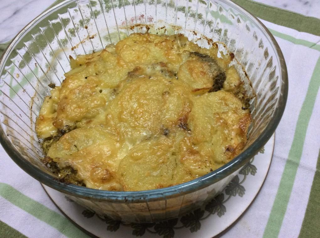Tortino di patate e broccoli