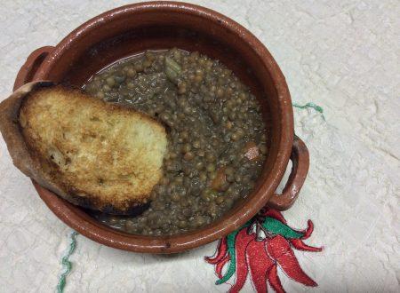 Zuppa di lenticchie ricetta  classica