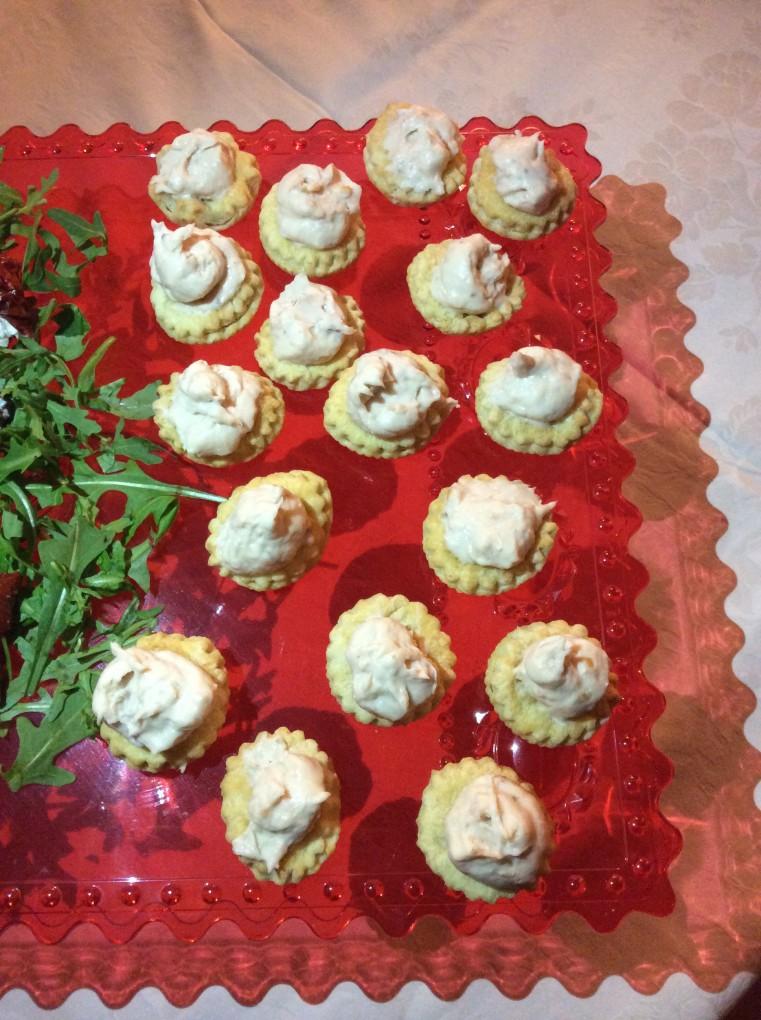 Frollini salati ricetta aperitivo
