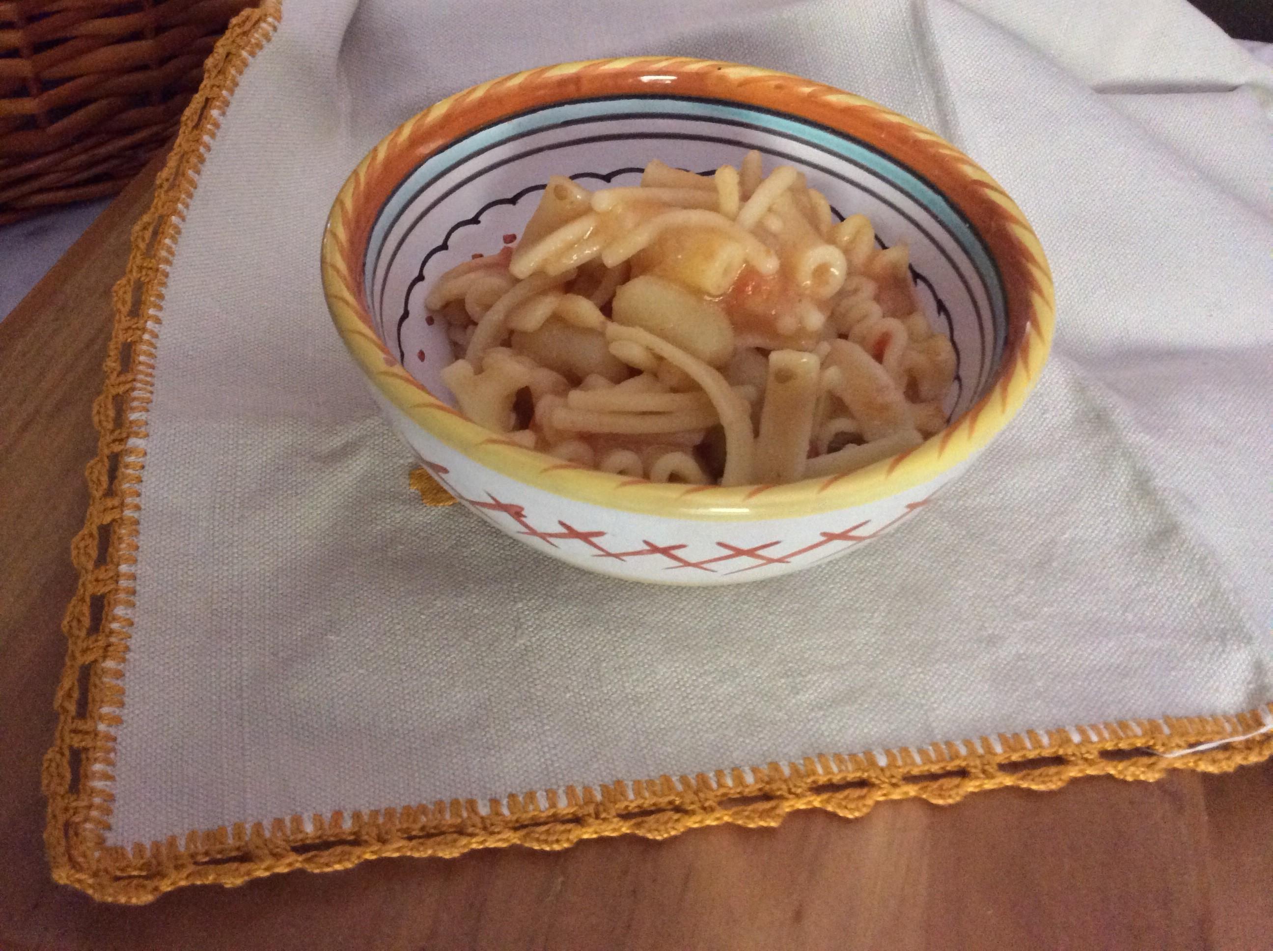 Pasta e patate ricetta tipica