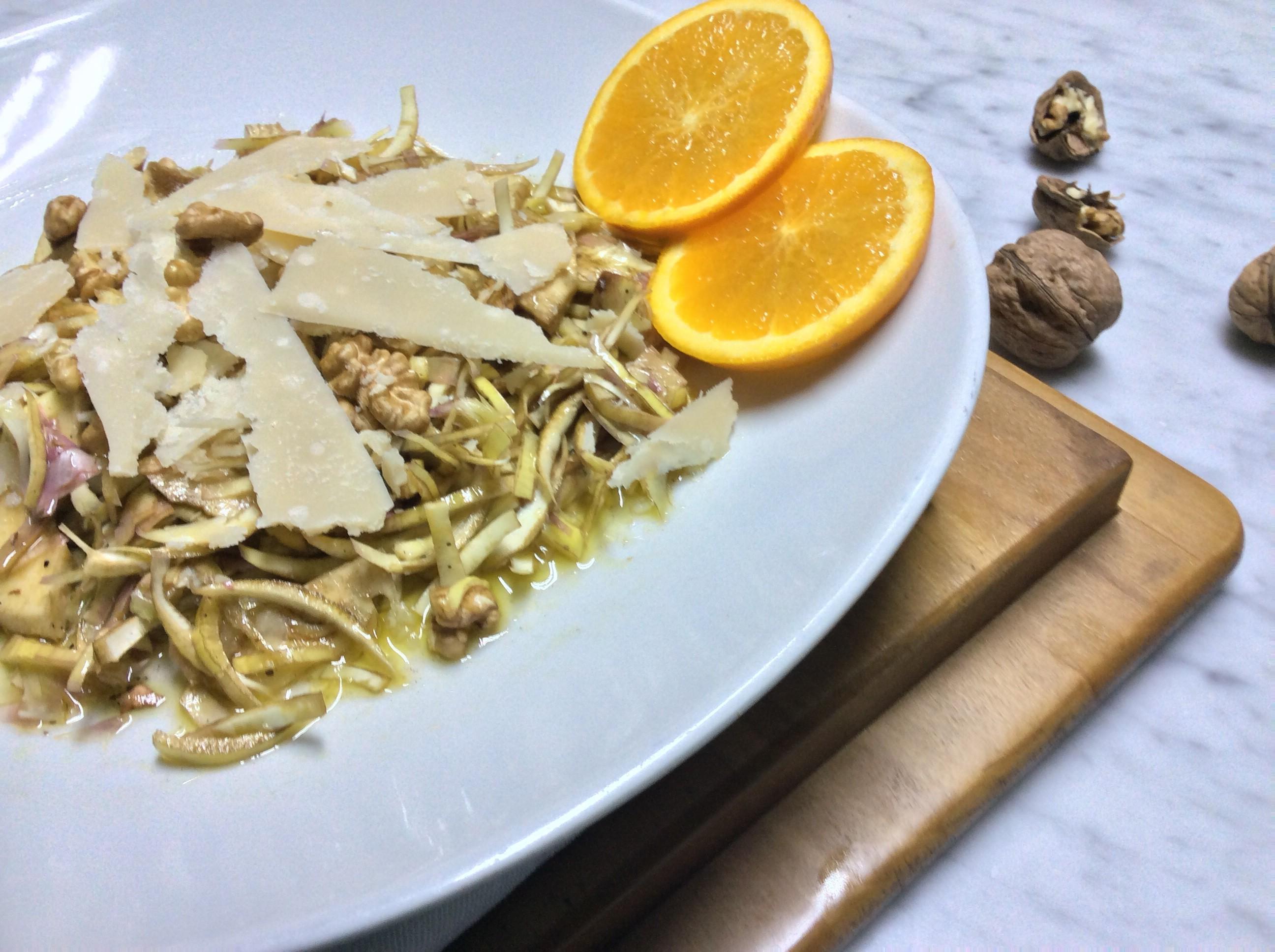 Cuori di carciofi in insalata