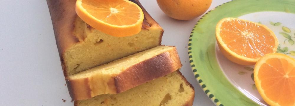 Pan d'arancia dolce siciliano