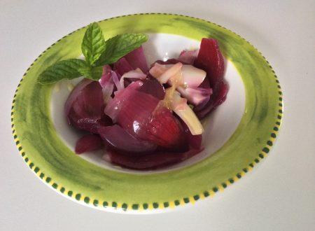 Insalata di cipolla rossa ricetta sfiziosa