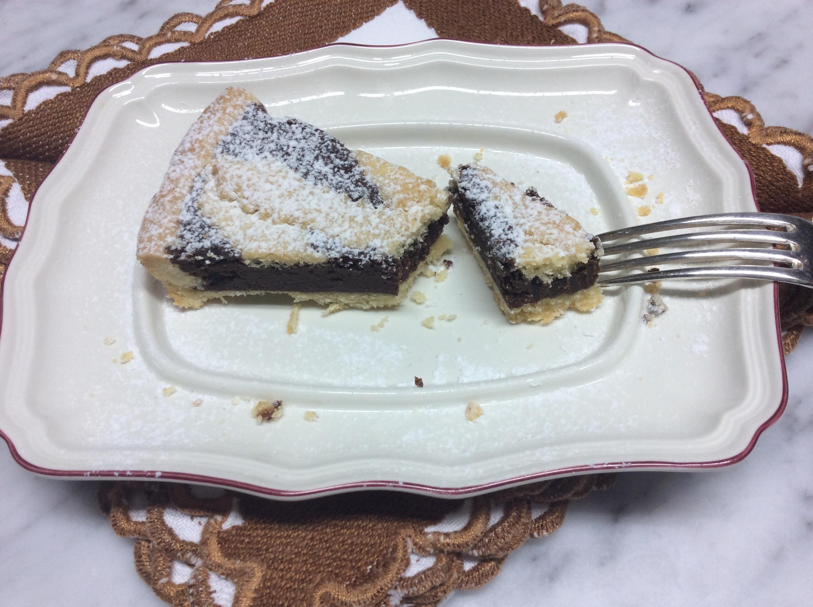 Crostata al cioccolato ricetta golosay