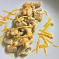 Fesa di tacchino con arancia e zenzero