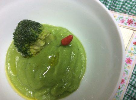 Crema di broccoli ricetta leggera