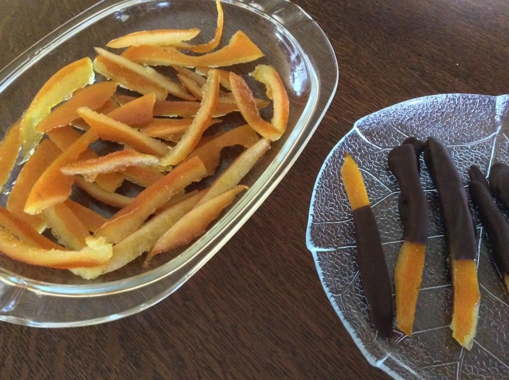 Bucce arance candite ricetta golosa