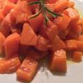 Zucca con aceto e peperoncino piccante
