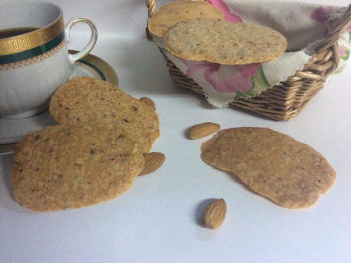 Foglie croccanti alla mandorla ricetta siciliana