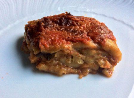 Parmigiana di melanzane ricetta tradizionale