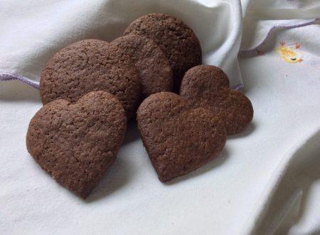 Biscottini di frolla al cioccolato