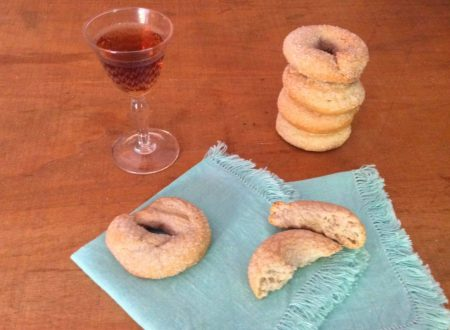 Ciambelline al vino rosso ricetta dei castelli romani