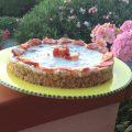 Cheesecake salata calabrese
