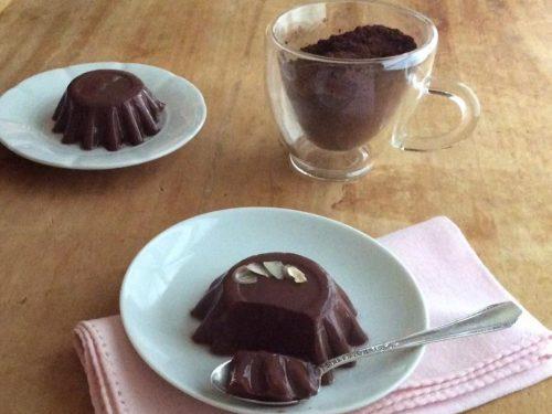 Budino al cioccolato nutriente e gustoso