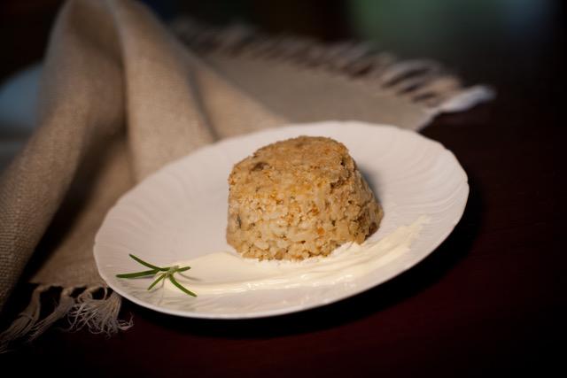 sformatini di riso