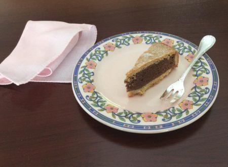 Torta frangipane morbida e golosa  al cioccolato