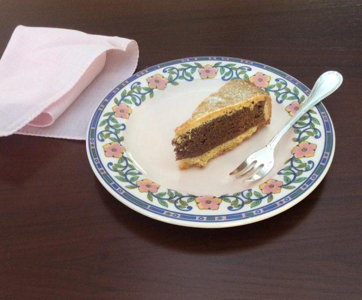 Torta frangipane morbida