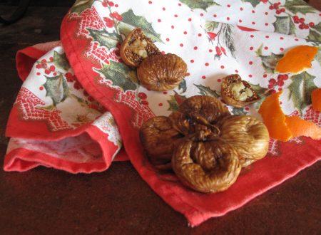 Crocette di fichi secchi ricetta natalizia